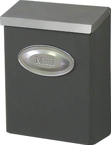 Gibraltar Designer Lockable Security Mailbox, 9-5/8 in W X 4-3/8 in D X 12-1/2 in H
