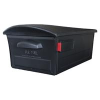 Solar RSKB0000 Curbside Locking Rural Mailbox, 13 in W x 21.38 in D x 9.38 in H, C2 Capacity