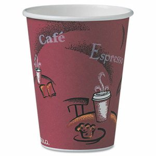 Bistro Design Hot Drink Cups, Paper, 12oz, 300/Carton