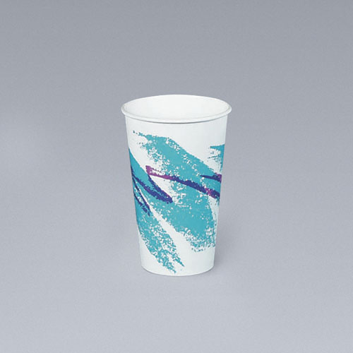 6-oz. Jazz Design Paper Hot Cups, 1000 Cups