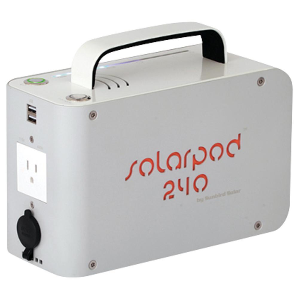 SolPro Solarpod, 240-110V