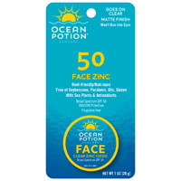 Ocean Potion 0088 SPF 45 Suncare Face Potion, 1 oz, White, Lotion