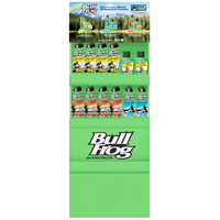 DISPLAY SUNCARE BULL FROG 24PC
