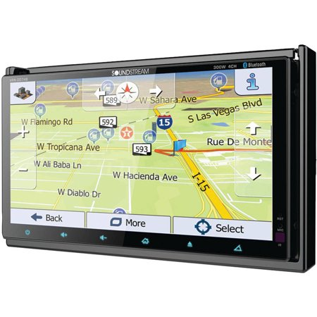 Soundstream Double Din BT DVD Nav. Unit with Dual 7