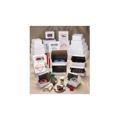 Bakery Boxes, White, Kraft, 10W x 10D x 4H
