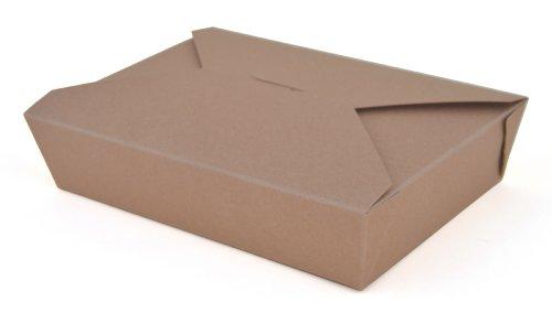 ChampPak Retro Carryout Boxes, Kraft, 7-3/4 x 5-1/2 x 1-7/8, Brown