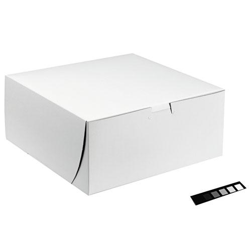 Bakery Box, Cake & Pie Boxes, 10 in. x 10 in. x 5.5 in.