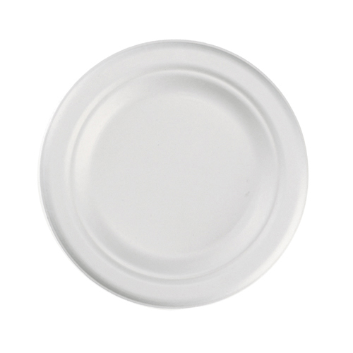 "ChampWare 6"" Heavyweight Molded Fiber Plates, 1,000 Plates"