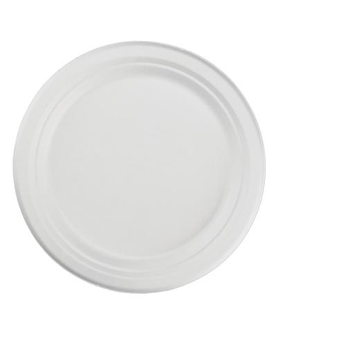"ChampWare 10"" Heavyweight Molded Fiber Plate, 500 Plates"