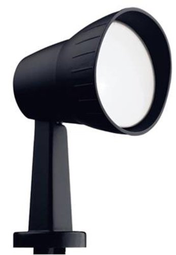 97172 BLK FLOOD LIGHT