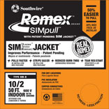10/2X50 FT. W/G NMB ROMEX
