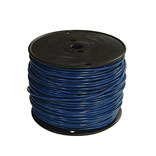 #12 GREEN STRAND THERMOPLASTIC HIGH HEAT RESISTANT NYLON COATED WIRE