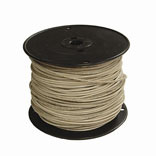 #12 WHITE STRAND THERMOPLASTIC HIGH HEAT RESISTANT NYLON COATED WIRE