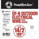 100-FOOT GROUND UF WIRE