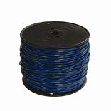 12 BLUE 500 FEET THERMOPLASTIC HIGH HEAT RESISTANT NYLON COATED SOLID WIRE