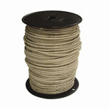 10 WHITE 55-FOOT THERMOPLASTIC HIGH HEAT RESISTANT NYLON COATED WIRE