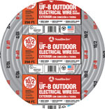 250-FOOT GROUND UF WIRE