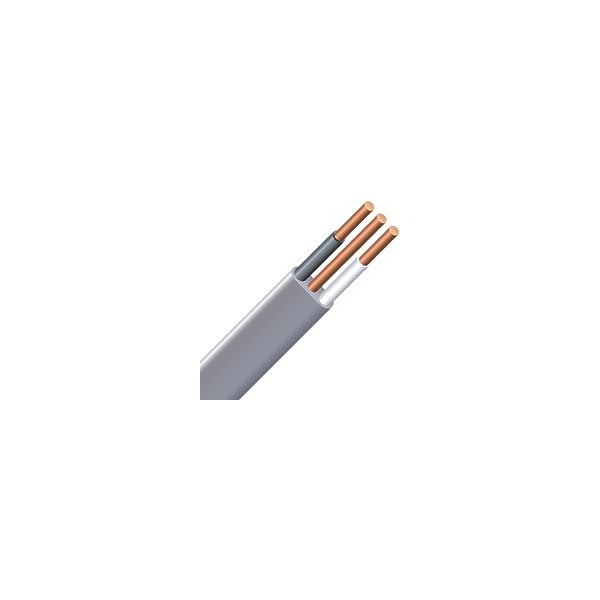 Southwire 47184720 Type NMWU Building Wire, 14/2, 20 m, PVC