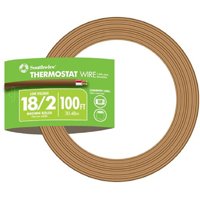 WIRE THERM CL-2 18/2 BRN 100FT
