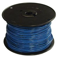 Southwire 14BLUE-SOLX500 Solid Single Building Wire, 14 AWG, 500 ft, 15 mil THHN