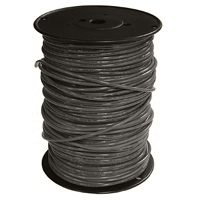 Southwire 16BLK-STRX500 Building Wire, 16 AWG, 500 ft, PVC