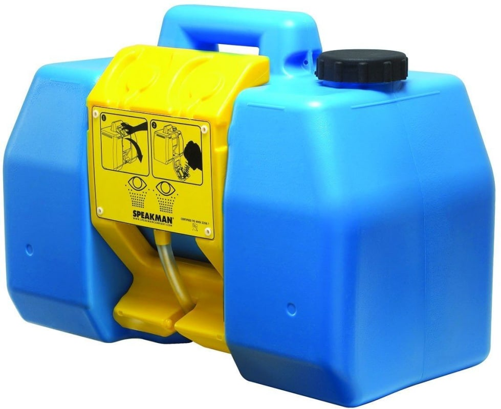 9 Gallon Portable EYEWASH 0.4 GPM