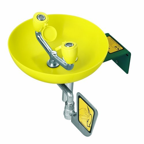 EYEWASH WM Yellow Plastic BOWL 3.6 GPM