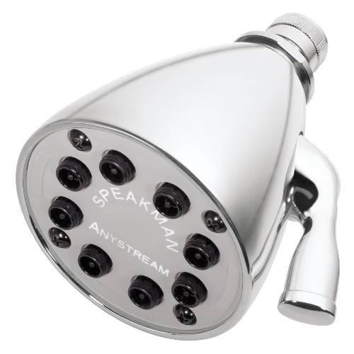 SPEAKMAN ANYSTREAM� 64 SPRAY SHOWER HEAD, POLISHED CHROME, 2.5 GPM