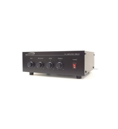 30W Contractor Series PA Amplifier  UL