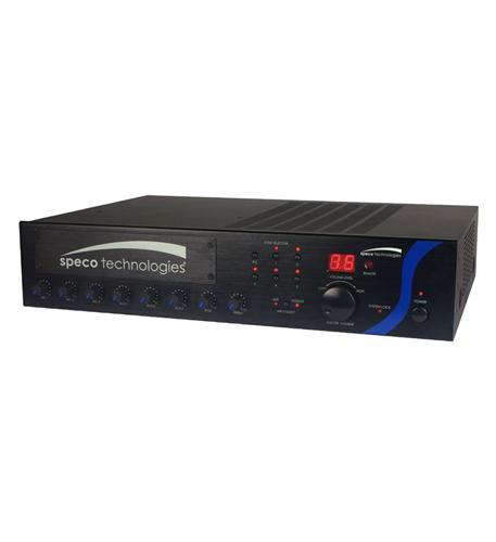 120W PA Mixer Amplifier with Module Bay