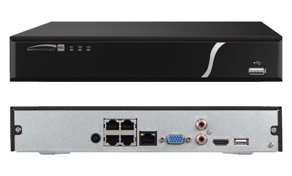 4 Channel NVS with POE- 4TB