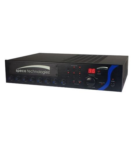 60W PA Mixer Amplifier with Module Bay