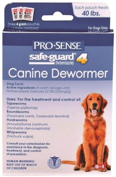 United Pet P-83072 Pro-Sense Canine Dewormer, Safe-Guard 4