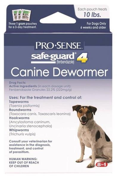 United Pet P-83070 Pro-Sense Canine Dewormer, Safe-Guard 4