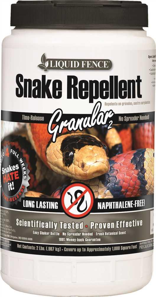 LIQUID FENCE� SNAKE REPELLENT GRANULES, 2 LBS.