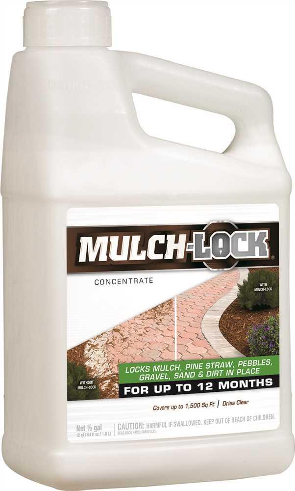 MULCHLOCK� LANDSCAPE ADHESIVE, CONCENTRATE, 1/2 GALLON