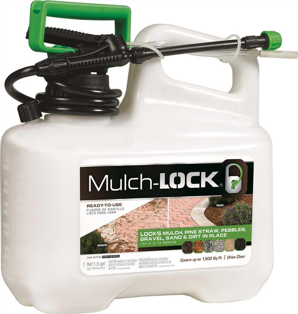 MULCHLOCK� LANDSCAPE ADHESIVE, READY-TO-USE, 1-1/2 GALLON