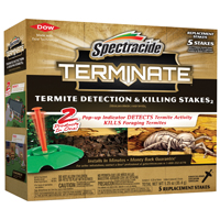 Spectracide HG-96116 Termite Stake, 5 Count, Brown to Tan
