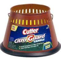 Cutter HG-95784 Bucket Candle, 20 oz, Wax, Citronella