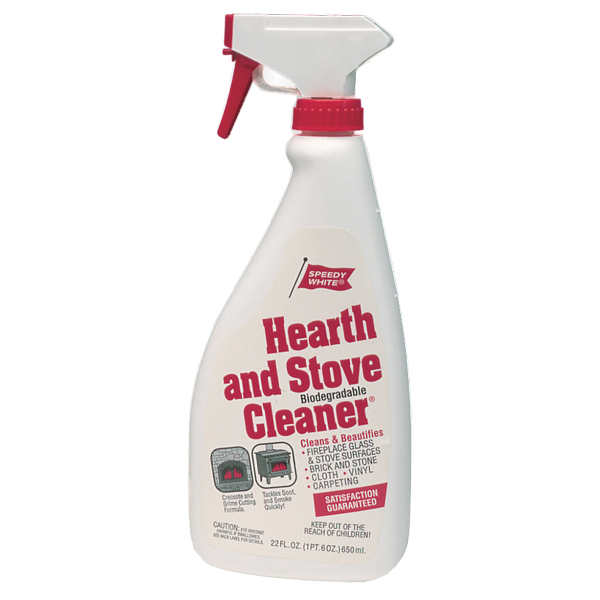 (1 Case of 12) 22 Oz. Spray Bottles Speedy White Hearth And Stove Cleaner