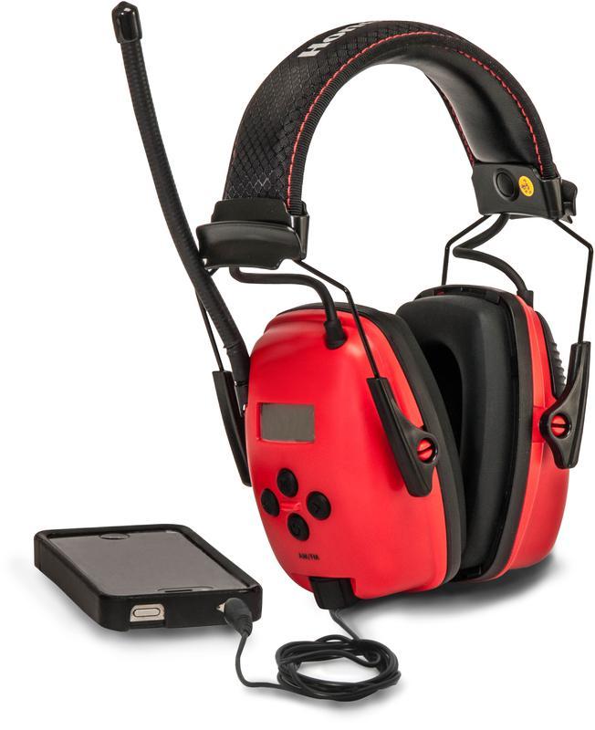RWS53012 AM/FM EARMUFF W/MP3