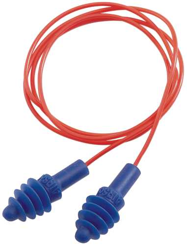 AIRSOFT� REUSABLE CORDED EARPLUGS, 27 NRR, 50 PAIRS PER BOX