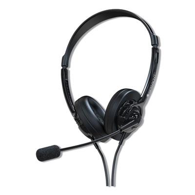 ZuM ZuM350B, Binaural, Over The Head Headset