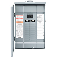 Square D HOM2040M100PRB Convertible Mains (Breaker) Load Center, 120/240 VAC, 100 A, 1 Phases, 22000 AIR Interrupt