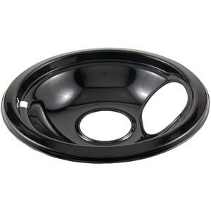"STANCO 415-6 Black Porcelain Replacement Drip Pan (6"")"