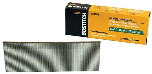 BT1345B 1-3/4 IN. BROWN BRADS