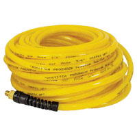 Prohoze PRO-1450 Premium Air Hose, 1/4 in x 50 ft, MNPT, 200 psi, Polyurethane