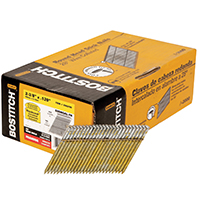 Stanley S8DRGAL-FH Stick Collated Framing Nail, 0.12 in x 2-3/8 in, 28 deg