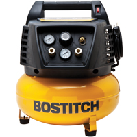 Stanley Bostitch BTFP02012/1 Air Compressor, 6 gal, 150 psi, 3.7 scfm at 40 psi, 2.6 scfm at 90 psi