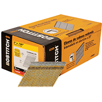 Stanley S10DRGAL-FH Stick Collated Framing Nail, 0.12 in x 3 in, 28 deg